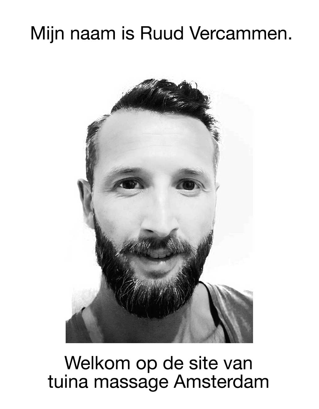 Mijn naam is Ruud Vercammen. Welkom op mijn site.